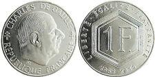 1  FRANC  DE  GAULLE  1988  ,  SANS  DIFFÉRENT