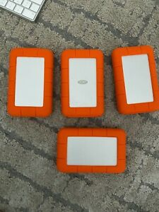 LaCie Rugged Thunderbolt and USB 3.0 External Hard Drive- 2TB