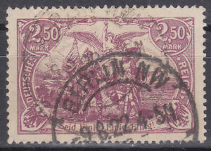 Germany Deutsches Reich 1920 Mi. Nr. 115c High Value 2.50M Definitive USED Gepr.