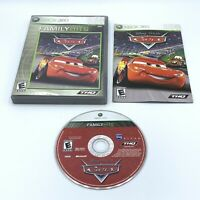 Cars (Microsoft Xbox 360, 2006) Complete With Manual CIB