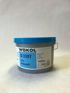 Wakol D 3307 Vinylkleber PVC-Kleber Vinyl Dispersionsklebstoff á 3 kg
