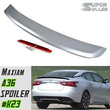 LA Stock Paint #K23 For Nissan Maxima 8th A36 4D Sedan OE Trunk Boot Spoiler