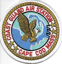 US Coast Guard large back 5.5x9.5 dark blue//white HENRY USCG patch