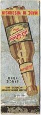 1930s Monroe Wisconsin Hi-Brau Beer Matchcover TavernTrove