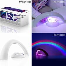Proyector infantil con Luz LED arcoiris, para bebés-niños,ideal como quitamiedos