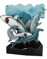 Shark Greeting Card 3D Interactive Swing Card / Santoro Graphics