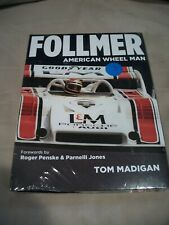 FOLLMER  American Wheel Man By Tom Madigan (2013, Hardcover) AUTOGRAPHED NEW