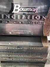 2014 BOWMAN INCEPTION BASEBALL HOBBY BOX  KRIS BRYANT! AARON JUDGE AUTOS HOT