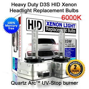 Heavy Duty D3S 6000K OEM HID Xenon Headlight Bulbs for Mercedes-Benz CLA GLA