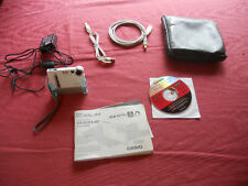 Casio Exilim EX-S2 Charger Dock Software Manual Battery SD Card Cables Case