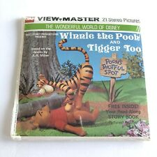 VTG Viewmaster B369 Reels Winnie the Pooh and Tigger Too Sealed