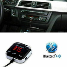 Manos libres inalámbrico Bluetooth LCD USB MP3 AUX SD FM transmisor Imán Kit de coche