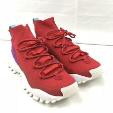 san francisco 7c3f5 fbd8f Adidas Originals Seeulater PK Primeknit Winter Pack Red Trainer Shoe BY9401