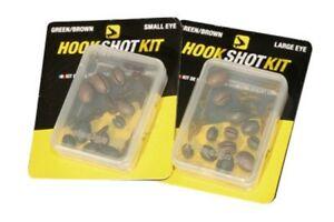 Avid Carp Hook Shot Kit Clearance Pack: Small eye & large eye