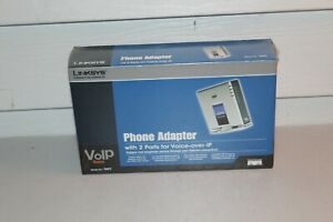 New Sealed Linksys Phone Adapter PAP2 Voice Over IP VOIP