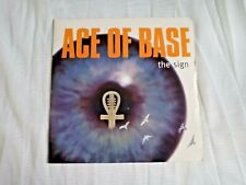 """ACE OF BASE - THE SIGN - 7"""" VINYL SINGLE  P/S 1993"""