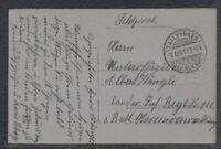 41074) TAILFINGEN (O.A. BALINGEN, WÜRTT.) 1917 Luxus Stempel auf Feldpostkarte