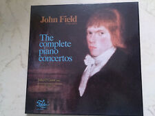 FIELD, JOHN The Complete Piano Concertos 4LPs *NM*