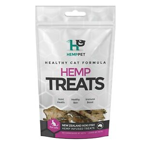 Cat Treats - HempPet - Hemp Infused Hoki Fish Treats