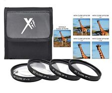 Xit 72mm 4Pc 1+2+5+10 Macro Close up Lens Filter Set (Check compatibility)