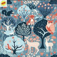 Twilit Forest From Modern Love By Monaluna Fabrics  100 % Organic
