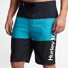 NWT MENS HURLEY BAHIA OBSIDIAN BOARD SWIM SURF SHORTS BOARDSHORTS 34 NEW