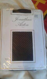 JONATHON ASTON ROMANCE LACE HOLD-UPS SIZE A