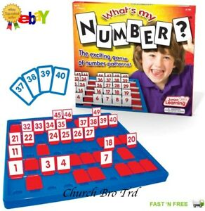 New Junior Learning What's My Number Game  RRP £70.00