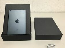 Apple iPad Mini 16GB, wi-fi, 7.9in - noir-grade a-uk iPad-excellent état