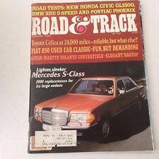 Road & Track Magazine Toyota Celica Mercedes February 1980 062817nonrh