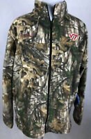 Columbia Men's XXL Virginia Tech Hokies Fleece PHG Jacket Realtree Camo MSRP $75