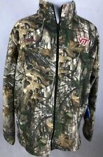 Columbia Men's XXL Virginia Tech Hokies Fleece PHG Jacket Realtree Camo MSRP $75