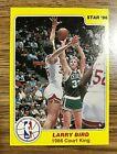 1986 Star Court Kings #4 Larry Bird