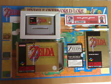 ★ THE LEGEND OF ZELDA A LINK TO THE PAST Super Nintendo SNES Super NES PAL ☆Raro