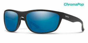 Smith® REDDING Men's Black Sunglass POLAR ChromaPop™ TechLite Blue Mirror GLASS