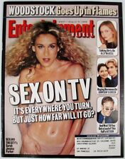 Entertainment Weekly 497 Aug 6 1999  Sex On TV Sarah Jessica Parker And The City