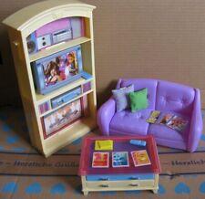 Barbie Spielset Living in Style Wohnzimmer 2002 Möbel