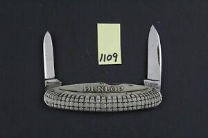 Blyde & Co., Sheffield, DUNLOP Tire Advertisement Pocket Knife 1109