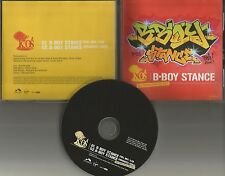 K-OS B Boy Stance w/ RARE ENHANCED VIDEO PROMO DJ CD Single 2004 USA Kos K os