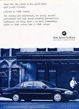 1997 Buick Park Avenue - power -  Classic Vintage Car Advertisement Ad J53