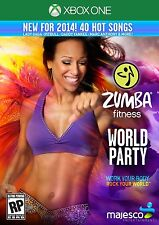NEW Zumba Fitness World Party  (Microsoft Xbox One, 2013) NTSC