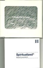 Ltd Edition CD Single  SPIRITUALIZED  I Think I'm In Love MINT CHEMICAL BROTHERS