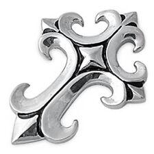 Gothic Cross  Stainless Steel Pendant