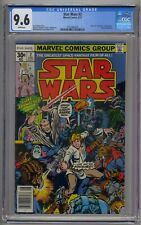 STAR WARS #2 CGC 9.6 1ST HAN SOLO 1ST CHEWBACCA WHITE PAGES!!!