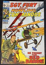 Sgt.Fury and his Howling Commandos #76 3/70 - 1st App. of Jack Fury