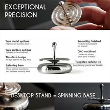 ⭐Professional Spinning Top Stainless Steel Ceramic Bead Super Precision EDC Toy