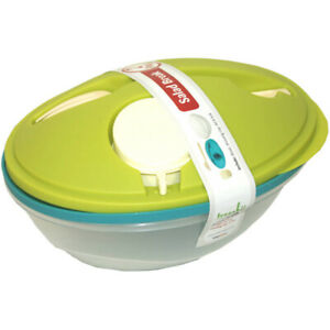 Life Story To-Go Salad Bowl Container w/ Bowl, Dressing Cup, Lid, & Fork, 2 Pack