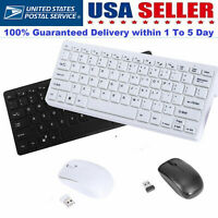 Computer PC gaming keyboard and mouse combo set Compact Wireless Mouse Windows