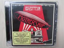 LED-ZEPPELIN MOTHERSHIP BEST OF 2CD SET REMASTERED, DISCS EXCELLENT CONDITION.