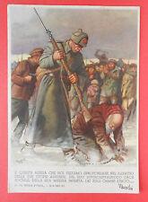 7107) E' questa Russia - Illustratore Gino Boccasile - viaggiata 1942